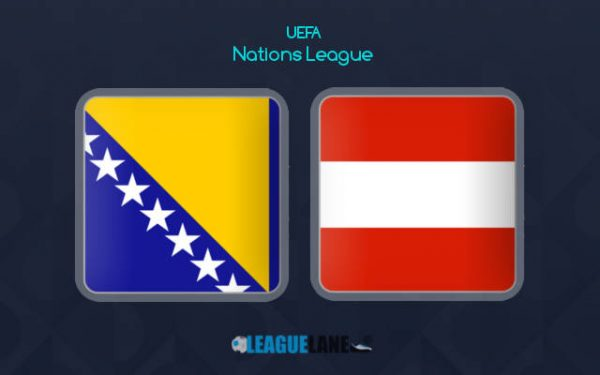 Bosnia vs Áo (01h45 ngày 12/09, UEFA Nations League)