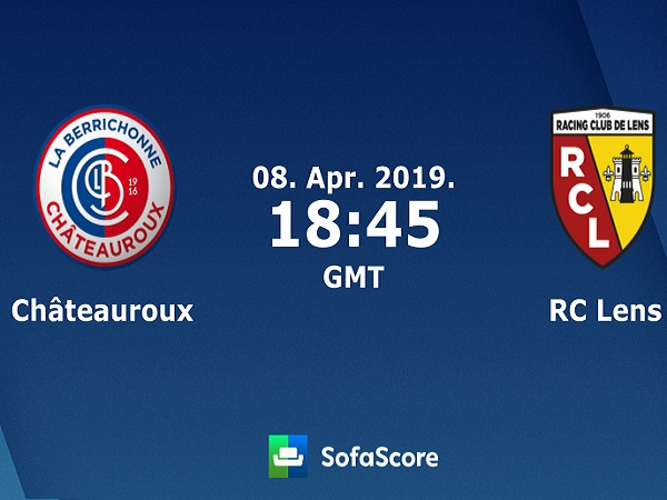 Soi kèo Chateauroux vs Lens, 1h45 ngày 9/04