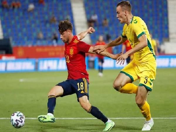 Soi kèo bóng đá U21 Lithuania vs U21 Tây Ban Nha, 22h30 ngày 7/9